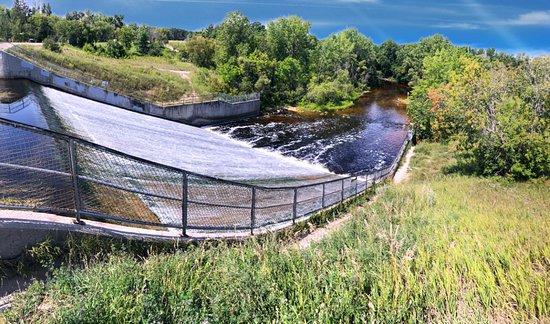 Saint Malo, كندا: Dam and Rat River