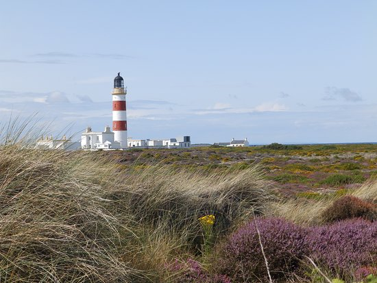 Bride, UK : Point of Ayre Lighthouse