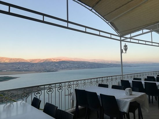 Bekaa Governorate, Lebanon: view on balcony