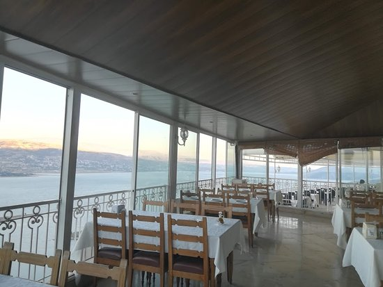 Bekaa Governorate, Lebanon: view from indoor balcony