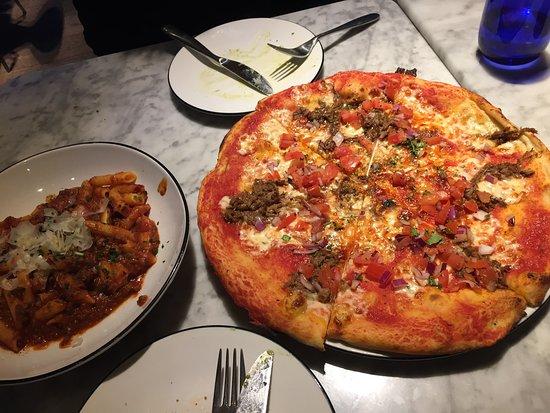 Pizza Express London 363 Fulham Rd Chelsea Menu