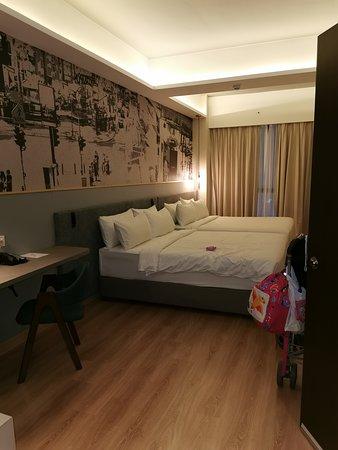 Clean spacious room
