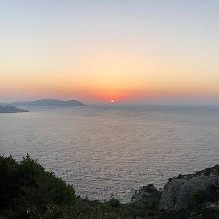 Il miglior tramonto di Rodi