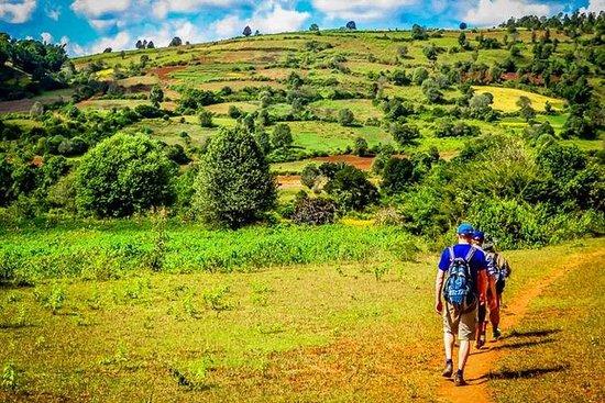 Trekking Kalaw til Inle