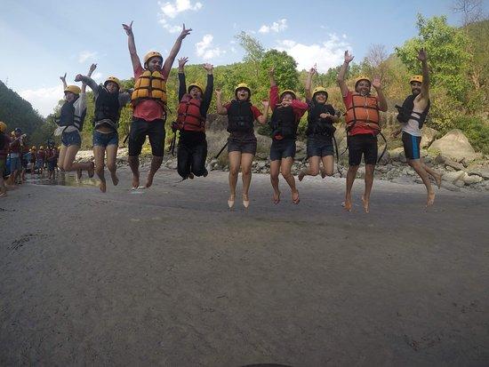 Bagmati Zone, Nepal: Memory on Bhotekoshi rafting.
