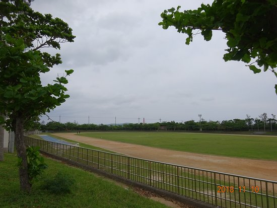 Yonashiro Comprehensive Park, Stadium