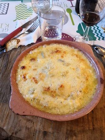 Cena...polenta Concia!
