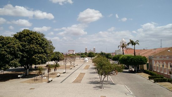 Ico, CE: Praça Largo do Thebérge. Icó-CE, Brasil.