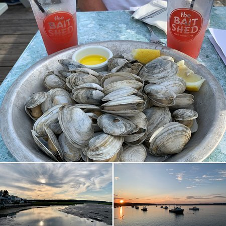 Delicious dinner in perfect Maine setting