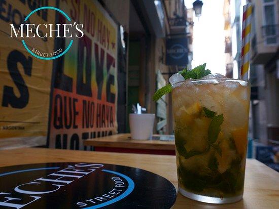 Meche's Street Food: Mojito Streetfood Comida internacional Cócteles Málaga Centro 951 993 013