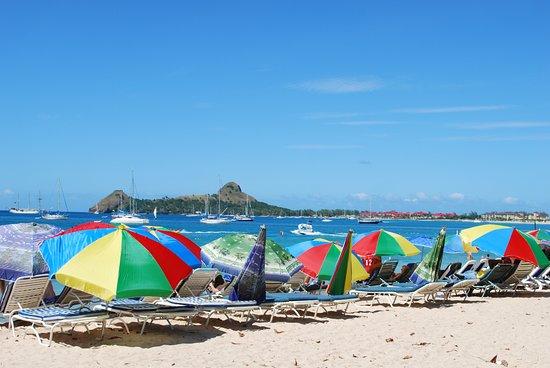 Reduit Beach Is A 5 Minute Walk