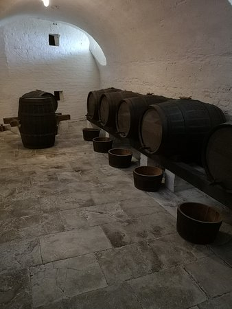 Uppark House and Garden: Beer cellar