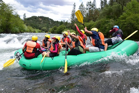 Mother Lode River Center: Water rafting at South Fork American River.