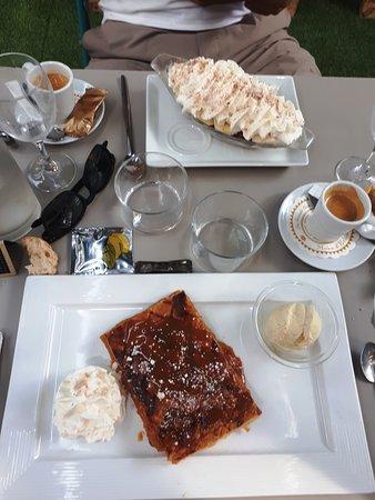desserts maison et large choix de café