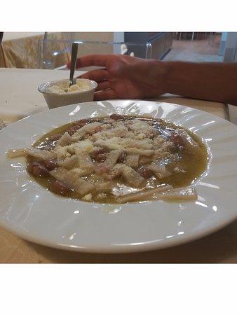 Chiauci, Italië: Sagne e fagioli. Tipiche del luogo