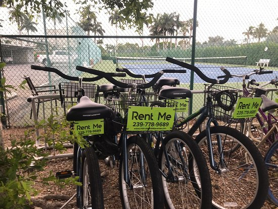 Bikes delivered to the Admiralty House on Marco Island