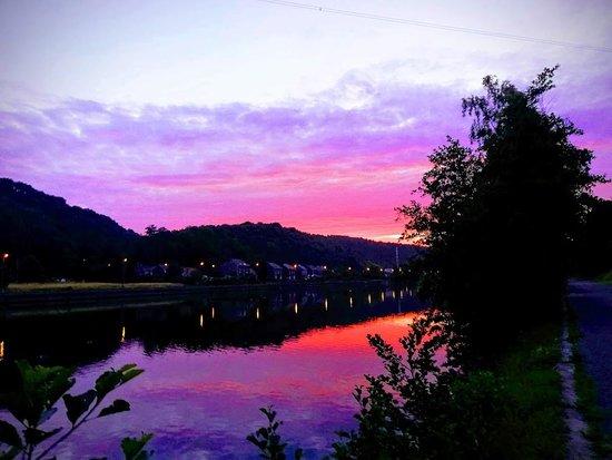 e lon de la Meuse a Sclayn