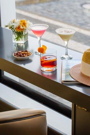 Os nossos Cocktails e petiscos