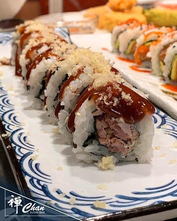 MAGURO MAKI... quando la salsa BBQ incontra il sushi