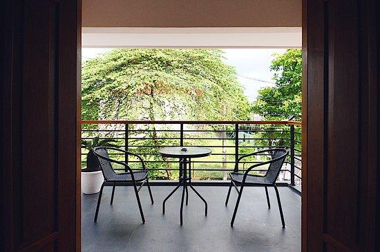 Kasihan, Indonesia: Balcony