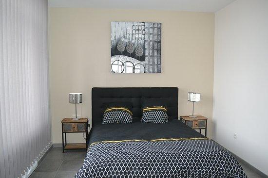 Arneke, Frankrike: Chambre avec lit 160X200