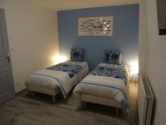 Arneke, Frankrike: Chambre 2 lits 80x200