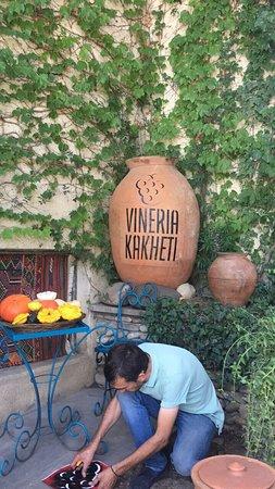 Sagarejo, จอร์เจีย: Vineria Kakheti