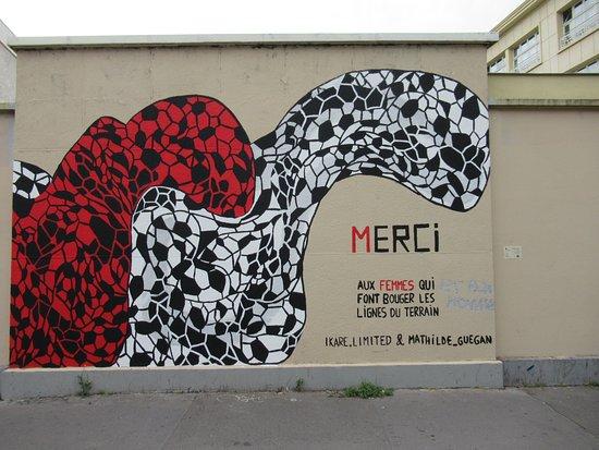 "Fresque ""La ville qui respire-09"""