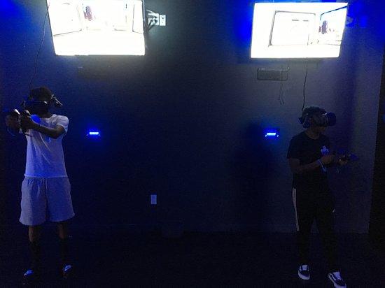 Futuristic VR World