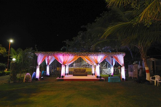 Ongole, อินเดีย: One of our excellent outdoor event areas