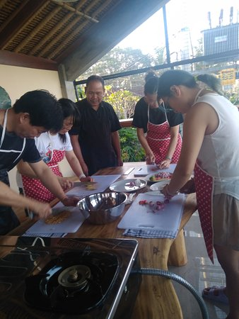 Pejeng Kangin, Indonezja: Guest from taiwan join cookingclass