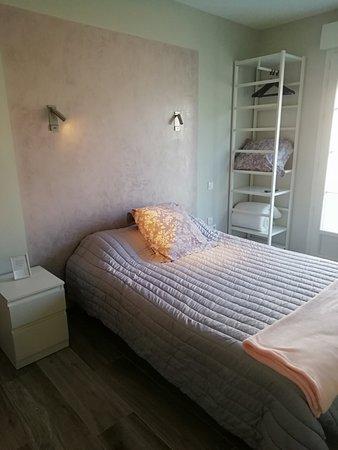 Louchats, ฝรั่งเศส: 3 chambres doubles et une twin