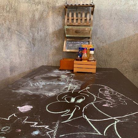 Los niños pueden dibujar aqui