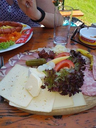 Kramsach, Österrike: plateau charcuterie fromage terroir