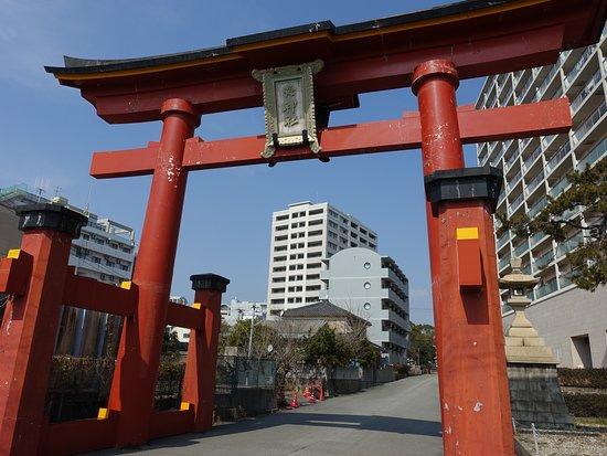 Watatsumi Shrine Hamaotorii