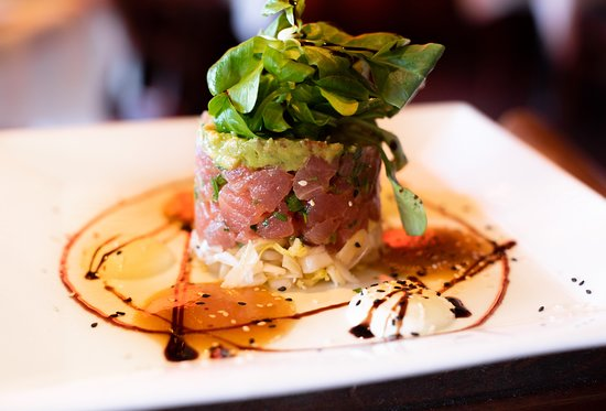 tuna tartar - Carmines Catering Menu Palm Beach Gardens
