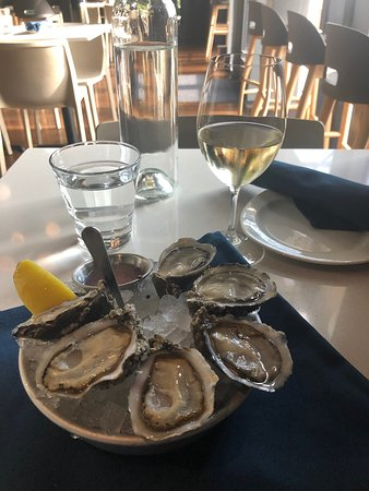 THE place for fresh oysters