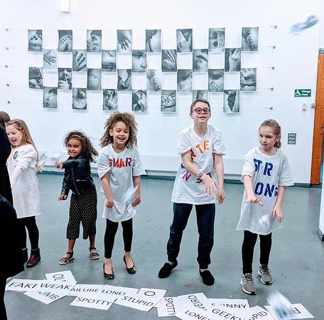 Children participate in a regular activity