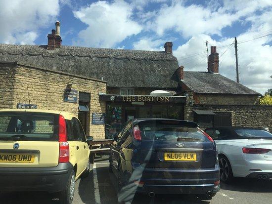 Stoke Bruerne, UK: The boat inn