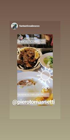 San Martino Sulla Marrucina, İtalya: Da Carla il mangiare è un piacere