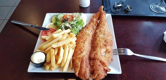 Heerlijk visje gegeten