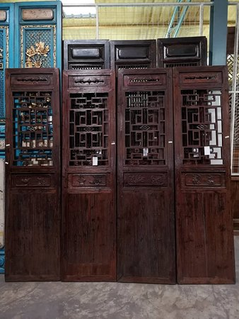 Chinese Antique Partition