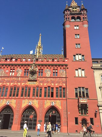 Stories of Basel's Old Town: The Town Hall