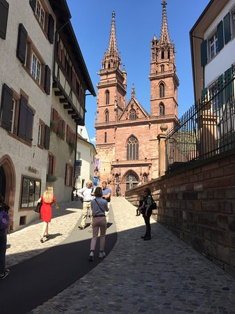 Stories of Basel's Old Town: View of the Cathedral