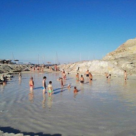 Aeolian Islands, Italija: Le terme libere di Vulcano
