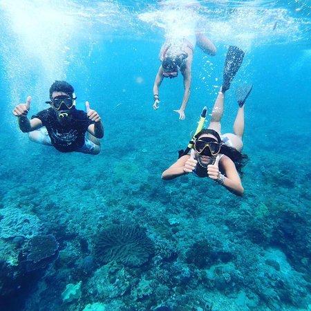 Nusa Ceningan, Indonesia: snorkeling