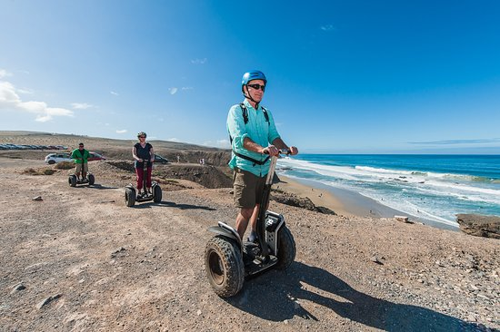 Playa de Jandía, España: join the best places Fuerteventuras on a Segway! And discover the fun of hovering this vehicles!