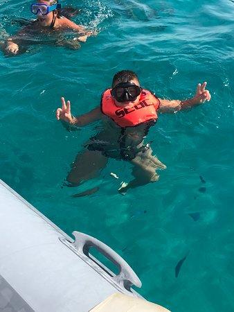 Fotografia de Snorkeling área protegida marinha Tavolara