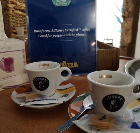 """Muy contentos de presentar nuestro nuevo café y también de poder aportar nuestro granito de arena en la mejora del medio ambiente con el proyecto sostenible """"TIERRA"""" 🌏de @lavazzaofficial @lavazzaes,"""