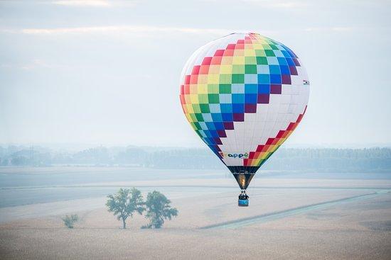 Győr, Maďarsko: Ballooning scenery